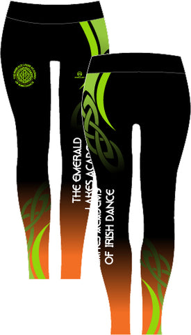 Emerald Lakes Academy Full length leggings