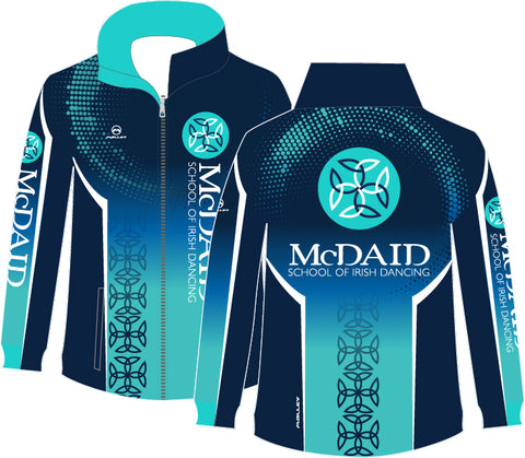 McDaid School Male Tracksuit top