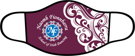 Naomh Fionnbarra School Face Mask