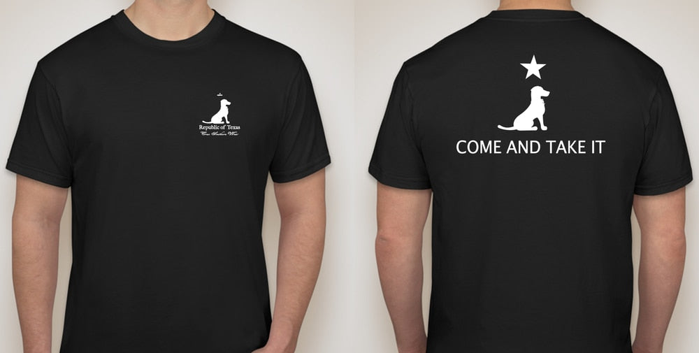 COME AND TAKE IT TEE BLACK