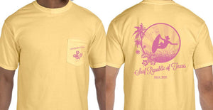 SURF REPUBLIC OF TEXAS YELLOW