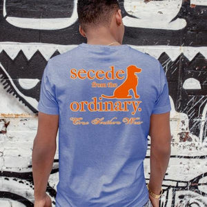 PAISLEY POCKET SECEDE BLUE SHIRT