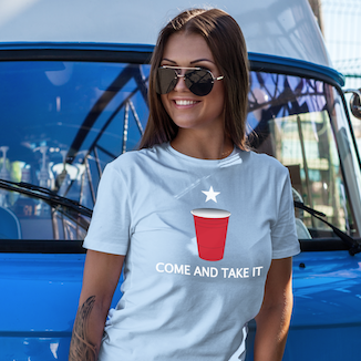 Come and Take It Red Solo Cup Tee