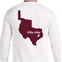College Station Long Sleeve Tee