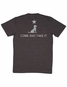 COME AND TAKE IT POCKET TEE