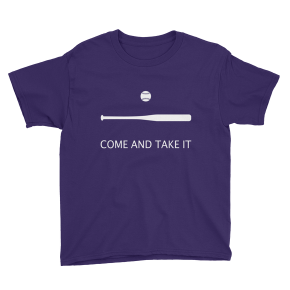 Come and Take It Softball Youth Tee