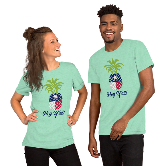 Texas Pineapple Mint Unisex T-Shirt