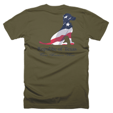 USA FLAG DOG-LIEUTENANT-ATHLETIC FIT POD