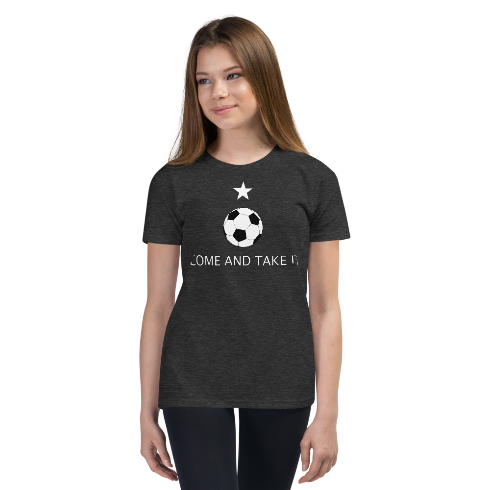 Come and Take It Soccer Youth Tee