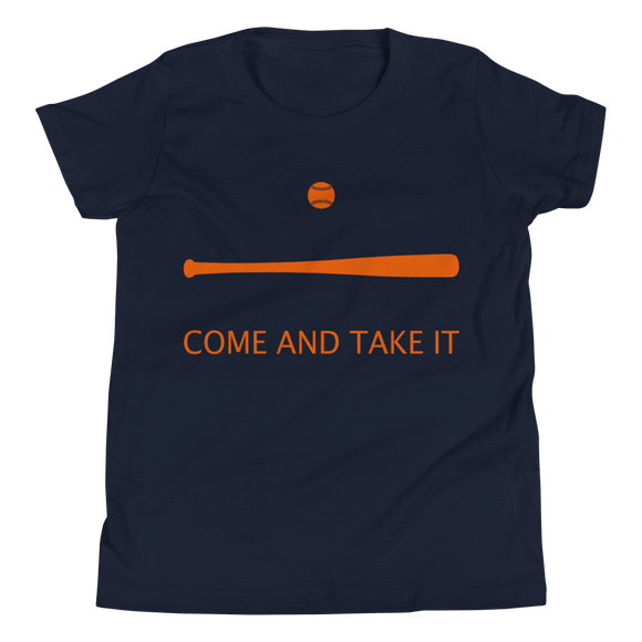 Come and Take It Baseball Youth Tee