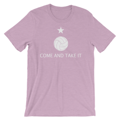 Come and Take it Volleyball Tee