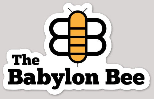 The Babylon Bee Print Decal
