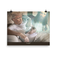 Load image into Gallery viewer, Trump And Jesus Covfefe Print