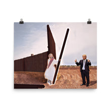 Load image into Gallery viewer, Trump And Jesus Build The Wall Print