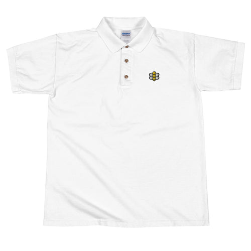Bee Embroidered Polo Shirt