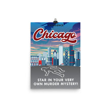 Load image into Gallery viewer, Chicago Travel Poster