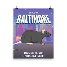 Load image into Gallery viewer, Baltimore Travel Poster
