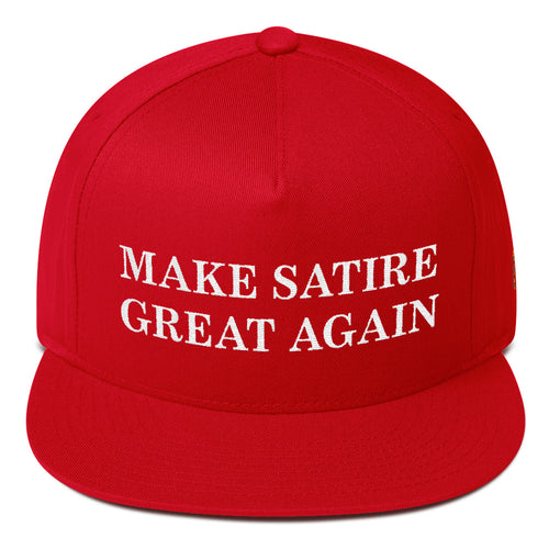 Make Satire Great Again Hat - Red