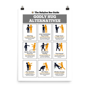 Godly Hug Alternatives Poster