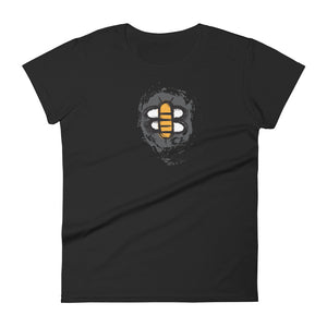 Women's Bee Grunge Logo Classic Fit T-Shirt
