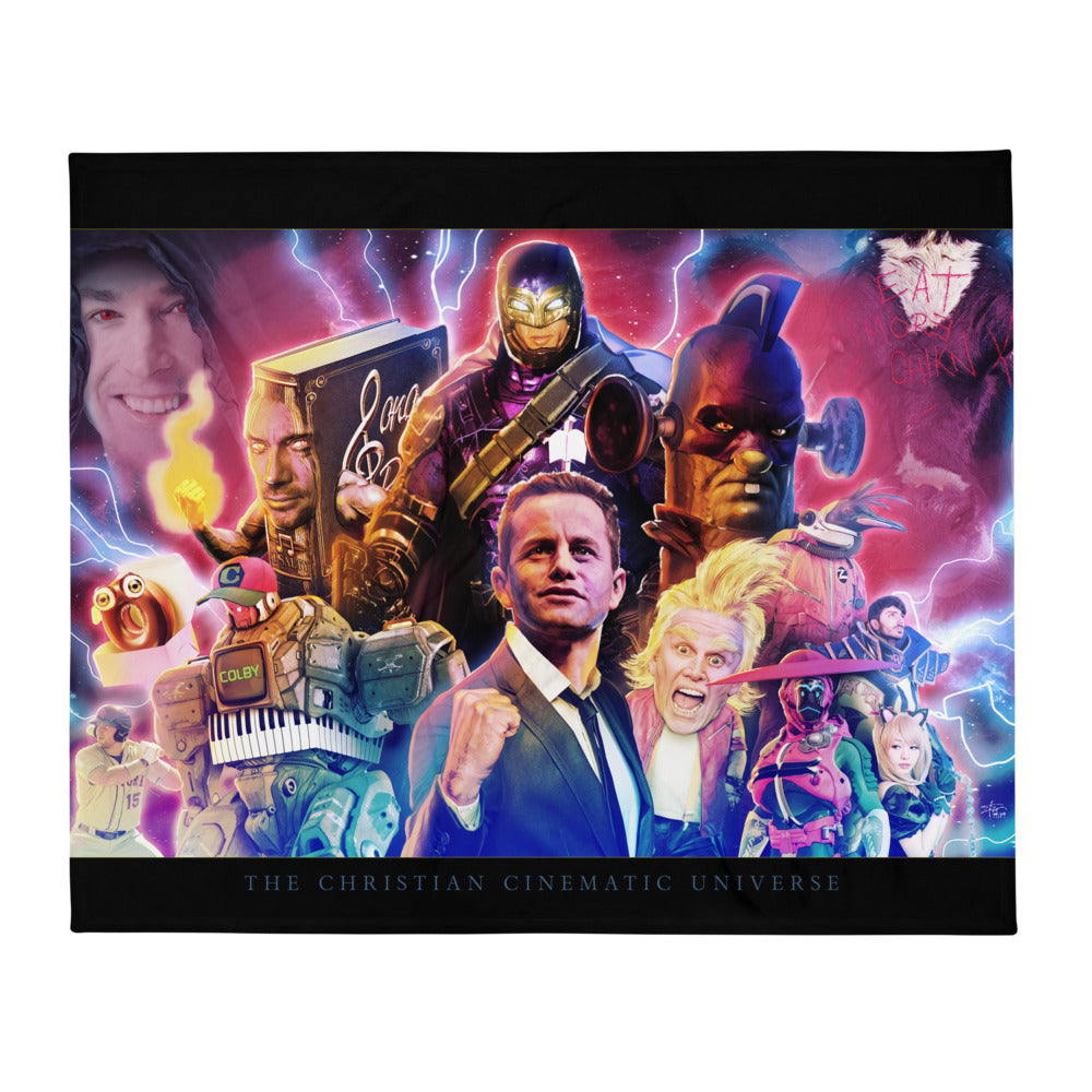 Christian Cinematic Universe Blanket