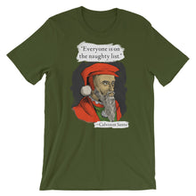 Load image into Gallery viewer, Calvinist Santa Shirt
