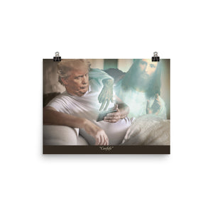 Trump And Jesus Covfefe Print