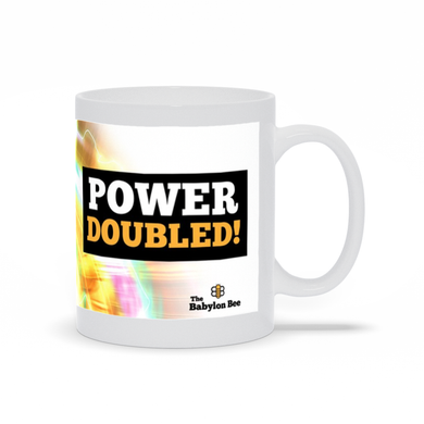 Trump Power Doubled Mug