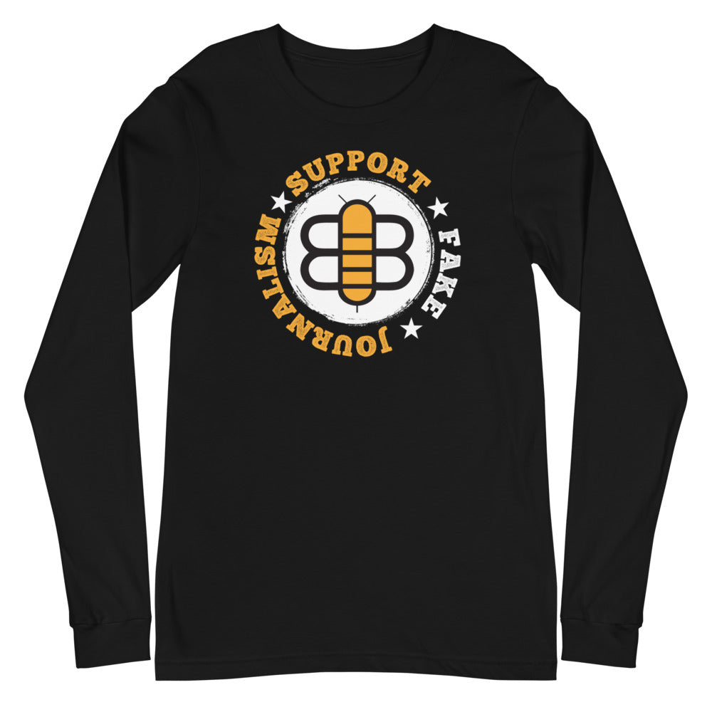 Support Fake Journalism Long Sleeve