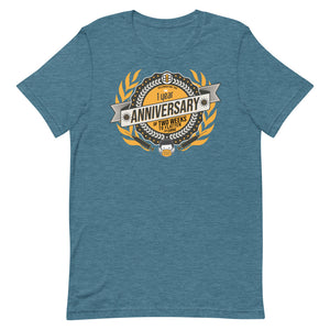 1 Year Anniversary of 2 Weeks to Flatten the Curve Commemorative T-Shirt