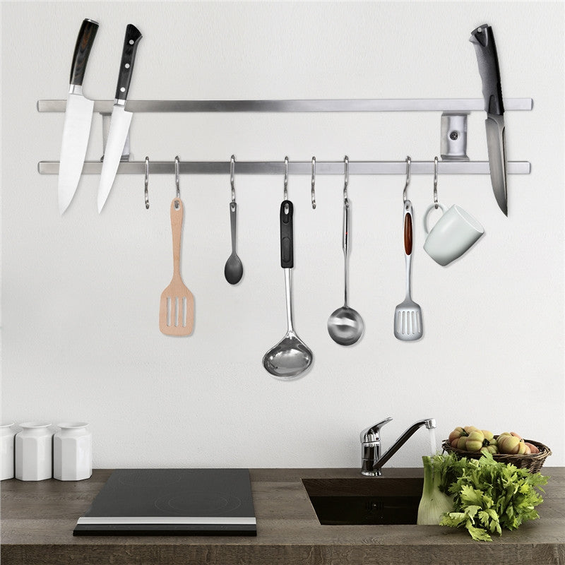 Wall-Mounted Magnetic Knife Holder