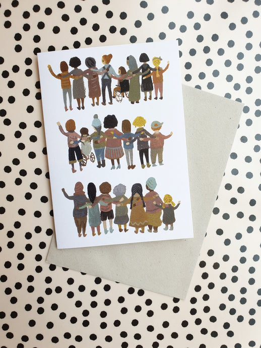 Gemma Koomen Unity, Solidarity, Strength Card