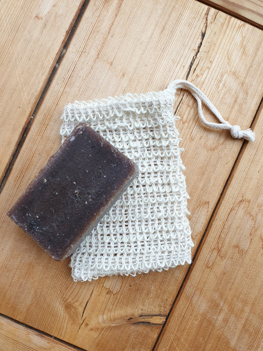 Eco Soap Saving Exfoliating Pouch/ Bag