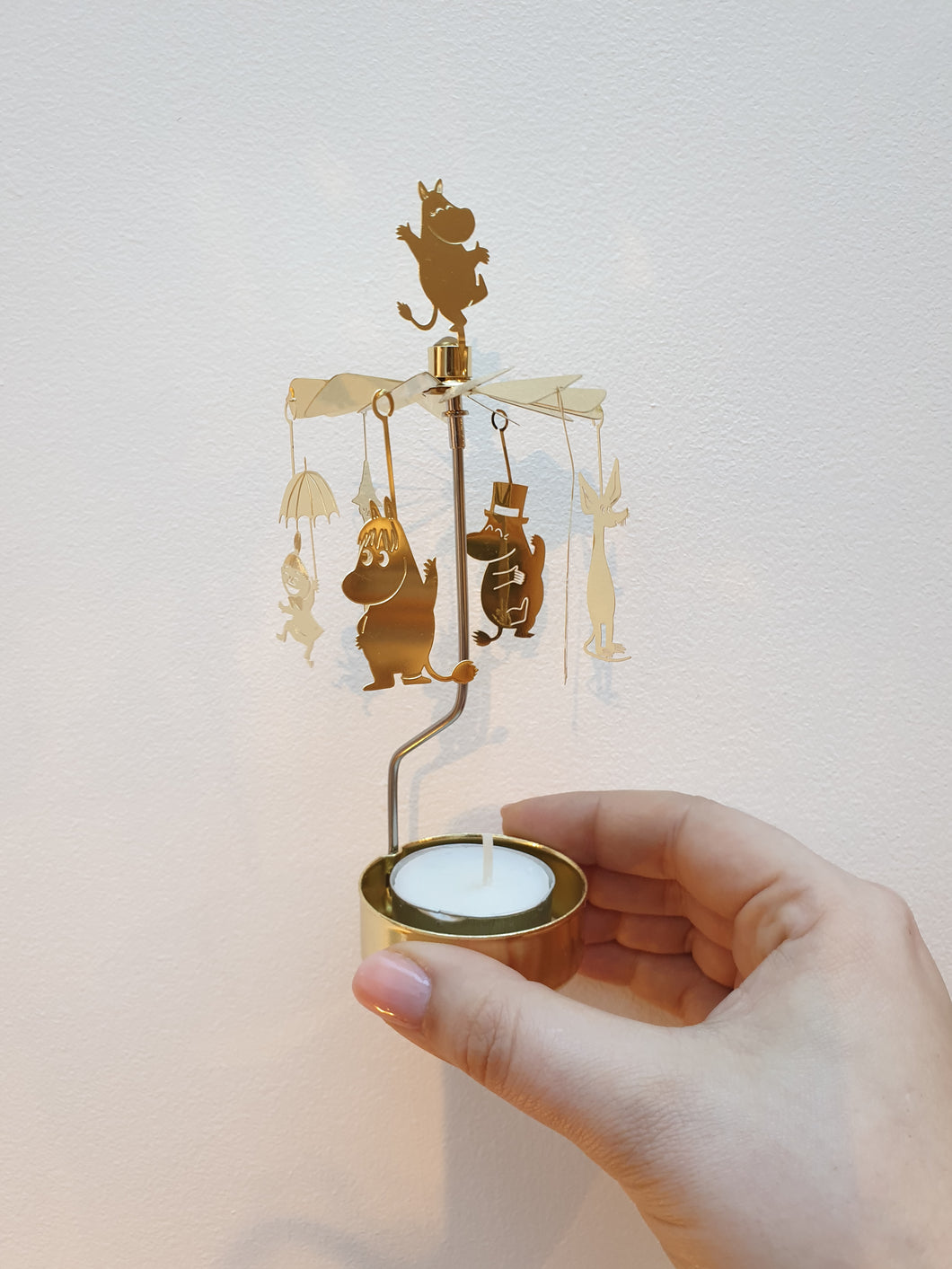 Moomin Änglaspel Rotary Candle Holder
