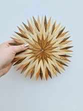 Load image into Gallery viewer, Handmade Wooden Starburst Trivet / Coaster