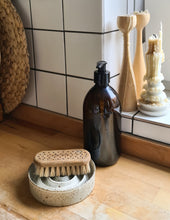 Load image into Gallery viewer, Viki Weiland Danish Stoneware Soap / Drip Dish