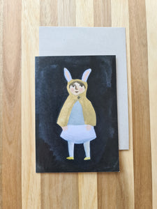 Gemma Koomen The Rabbit Cape Card