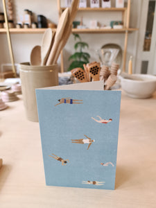 Fine Little Day Swimmers Card
