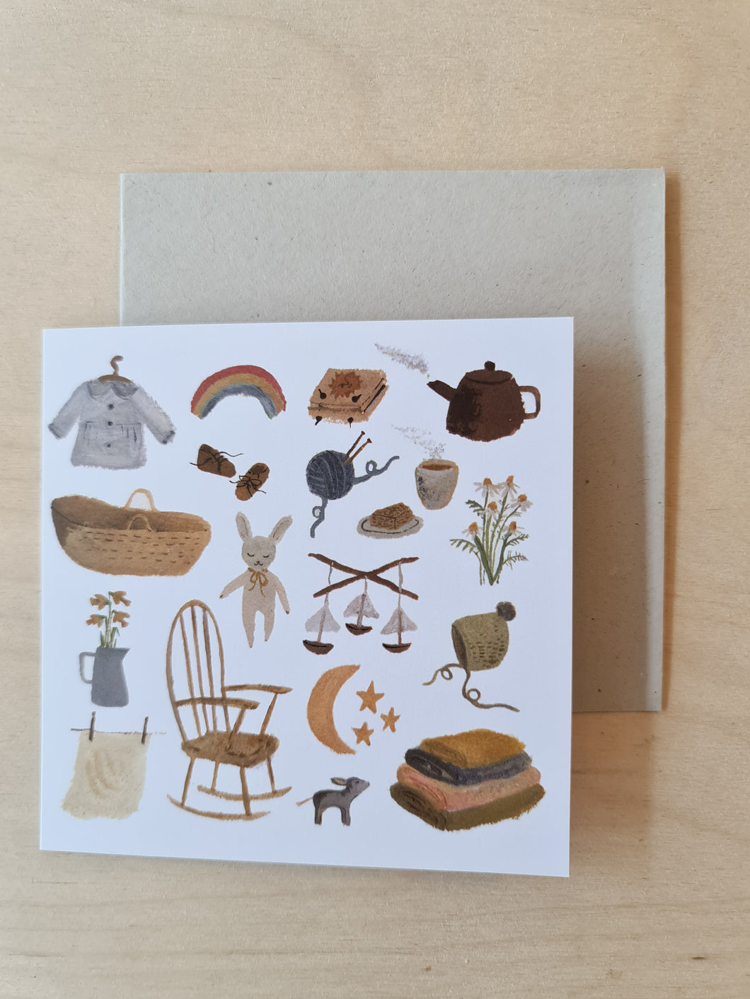 Gemma Koomen Baby Days Card