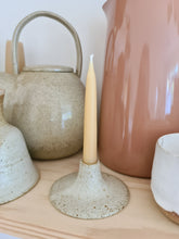 Load image into Gallery viewer, Viki Weiland Danish Stoneware Small Candle Holder