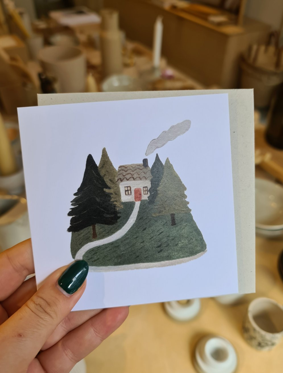 Gemma Koomen At Home in the Woods Card