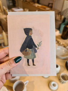 Gemma Koomen Tiny Witch Card