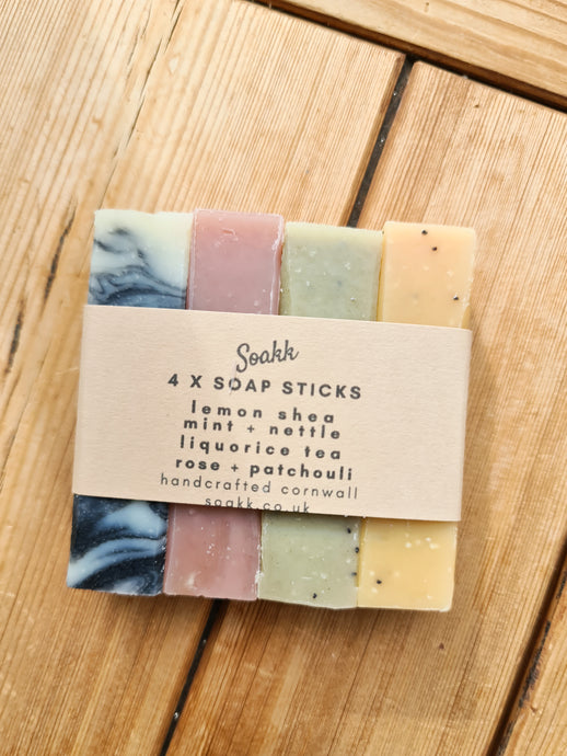 Soakk Cornish Soap Sticks