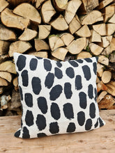 Load image into Gallery viewer, Fine Little Day Dots Cushion Cover - Black