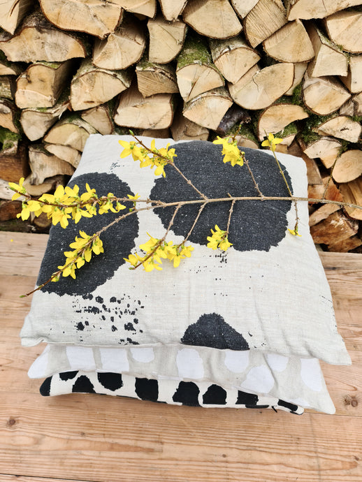 Fine Little Day Ink Blot Cushion Cover
