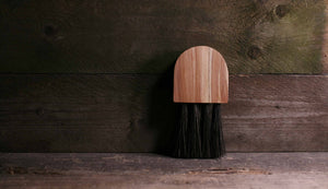 Slow Made Goods Flamed Beech Gumati Brush