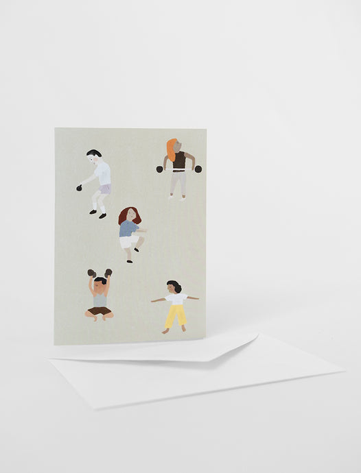 Fine Little Day Lift and Move Card