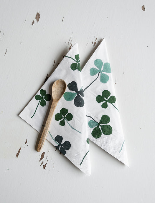 Fine Little Day Clover Paper Napkins