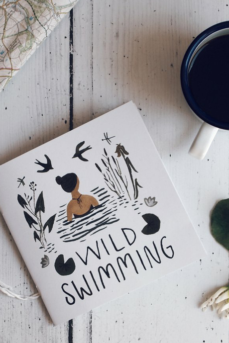 Beginner's Guide to Wild Swimming Book - Flora Jamieson