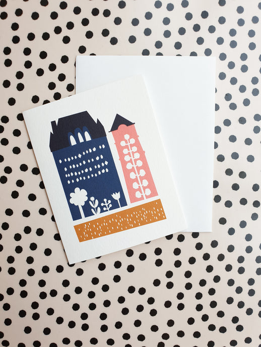 Darling Clementine House Card